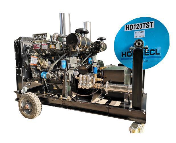 恒德世纪冷热水高压清洗机如何区分