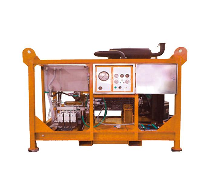 超高压水射流清洗机